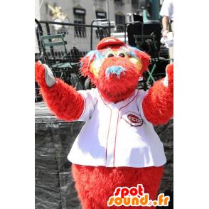 Mascot Big Red Dog behaart - MASFR21063 - Hund-Maskottchen