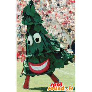 Zielone drzewo maskotka, gigant - MASFR21083 - Boże Maskotki