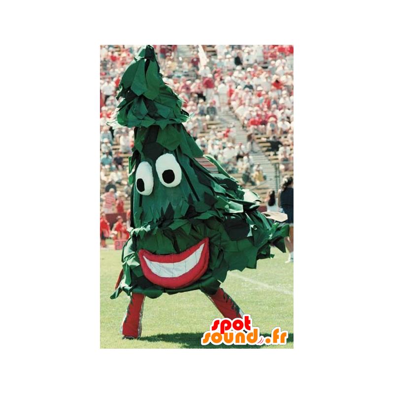 Mascotte de sapin vert, géant - MASFR21083 - Mascottes Noël