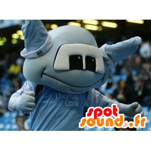 Blue alien mascot - MASFR21107 - Monsters mascots