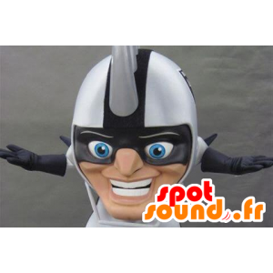 Maskot stor hjelm hodet, med pigger på hodet - MASFR21130 - Heads maskoter