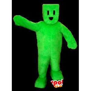 Grønn mann maskot, elektrisk plugg - MASFR21134 - Ikke-klassifiserte Mascots