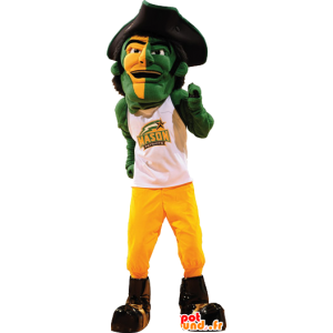 Pirate mascot, a man with a big hat - MASFR21137 - Mascottes de Pirate