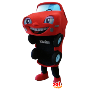 Red and black car mascot - MASFR21151 - Mascots of objects
