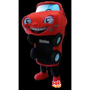 Rode en zwarte auto Mascot - MASFR21151 - mascottes objecten