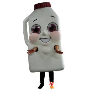 Mascot giant bottle of milk or chocolate drink - MASFR21156 - Mascots bottles