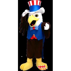 Maskotti mustavalkoinen kotka republikaanien hallussa - MASFR21200 - maskotti lintuja