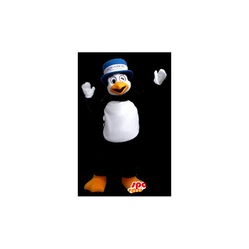Mascotte de pingouin noir et blanc 7b8bbad6ce4