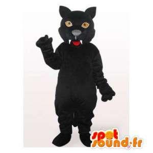 Mascote Pantera Negra. terno Panther - MASFR006453 - Tiger Mascotes