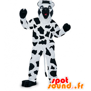Black and white cow mascot - MASFR21241 - Mascot cow