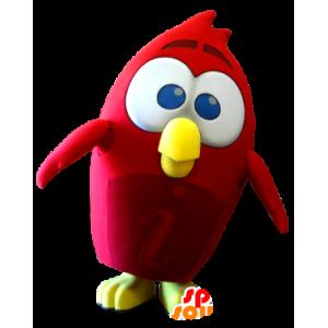 Maskotka czerwony ptak Angry Birds gry wideo - MASFR21250 - ptaki Mascot