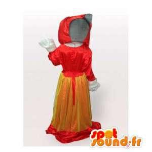Wolf-Maskottchen Red Riding Hood.Red Riding Hood Kostüm - MASFR006454 - Maskottchen-Wolf