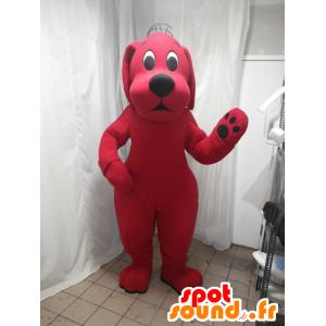 Mascotte Clifford the Big Red Dog Cartoon - MASFR21297 - Hund-Maskottchen