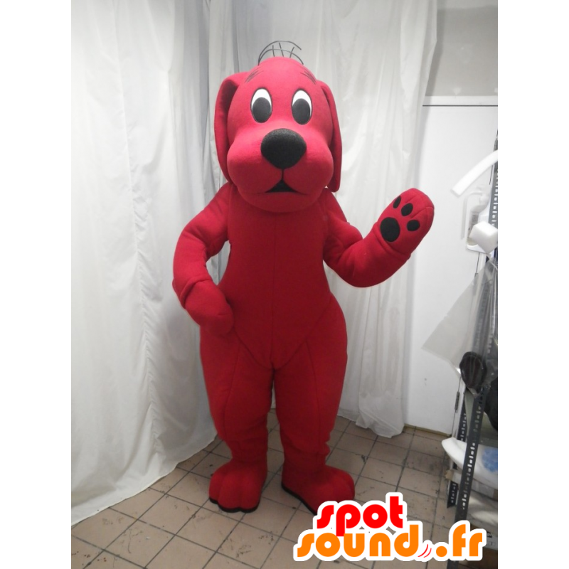 New Red Clifford Dog ADULT SIZE CARTOON MASCOT COSTUME