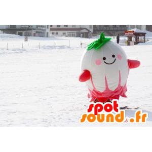 Großhandel Mascot Rettich, grün und pink - MASFR21317 - Maskottchen von Gemüse