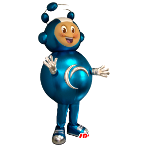 Extraterrestrial mascot, high futuristic combination - MASFR21350 - Mascots child
