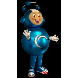 Extraterrestrial mascot, high futuristic combination