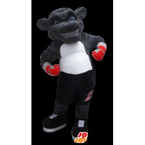Maskotti Grizzlies on Yenne nyrkkeilijä asu - MASFR21352 - Bear Mascot