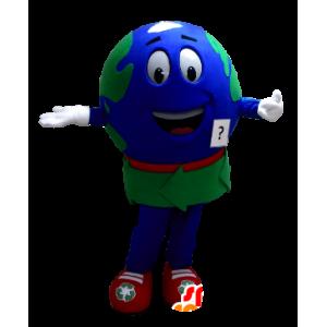 Kæmpe maskot til verdenskort - Spotsound maskot kostume