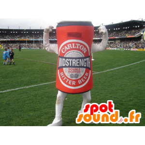Bobina mascota gigante cerveza roja - MASFR21376 - Botellas de mascotas