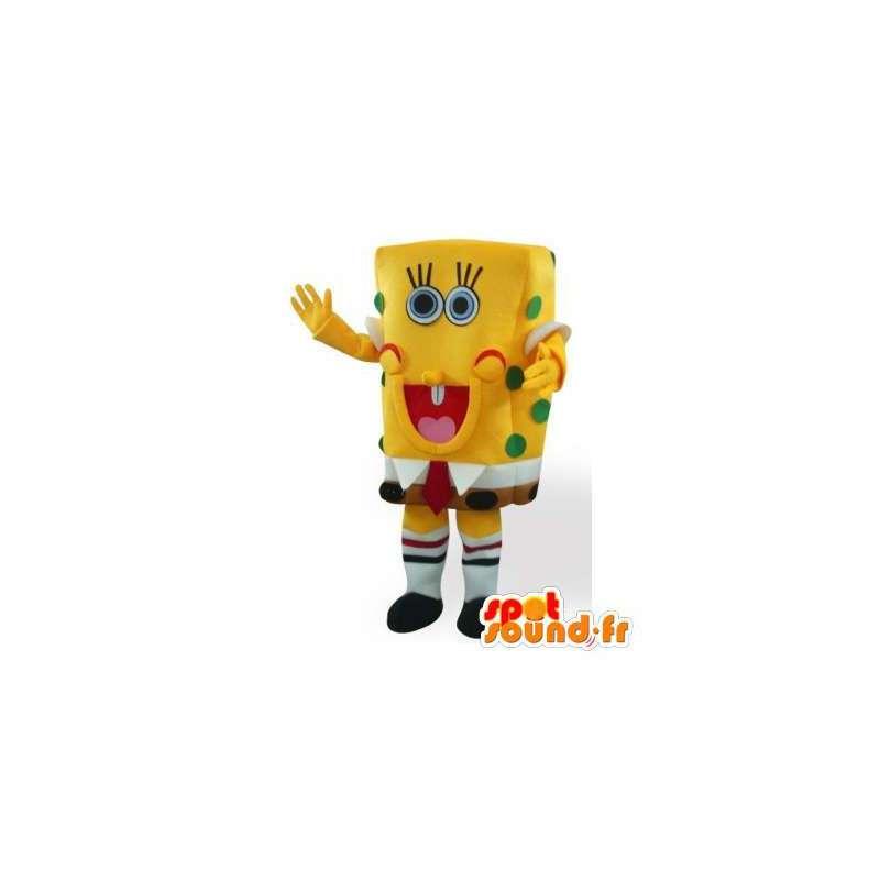 Mascot SpongeBob. Costume SpongeBob - MASFR006459 - Bob spons Mascottes