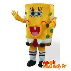 Mascot SpongeBob.Kostüm SpongeBob - MASFR006459 - Maskottchen Sponge Bob