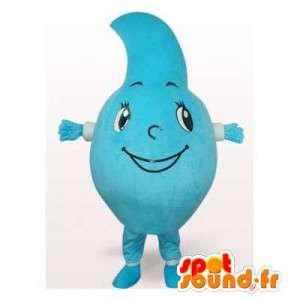 Mascot gigante a forma di goccia. Caduta di Costume