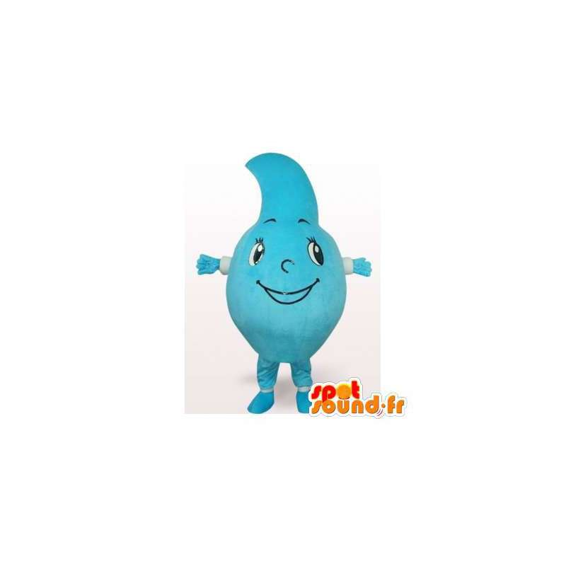 Mascotte en forme de goutte d'eau géante. Costume de goutte - MASFR006460 - Mascottes non-classées