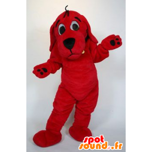 Mascotte Clifford Big Red Dog Cartoon - MASFR21475 - Mascotte cane