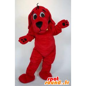 Mascotte Clifford the Big Red Dog Cartoon - MASFR21475 - Dog mascots