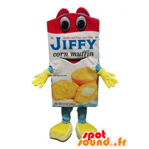 Nopea kakku valmistelu maskotti  - MASFR21512 - Mascottes Fast-Food