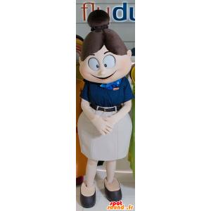 Air Hostess mascota, encantadora y coqueta