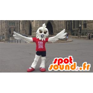 White owl mascot of FIFA 2015  - MASFR21583 - Mascot of birds