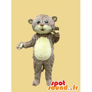 Spotted leopard mascot panther to tiger - MASFR21681 - Lion mascots