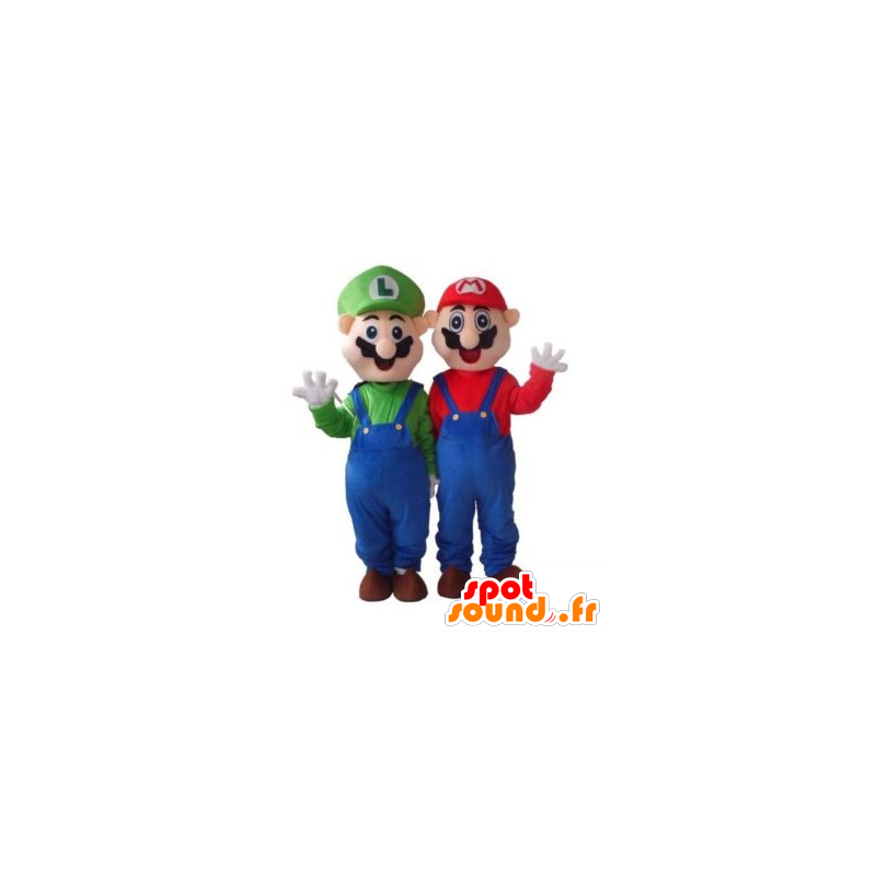 Mario i Luigi maskotka, słynne postacie w grze wideo - MASFR21726 - Mario Maskotki