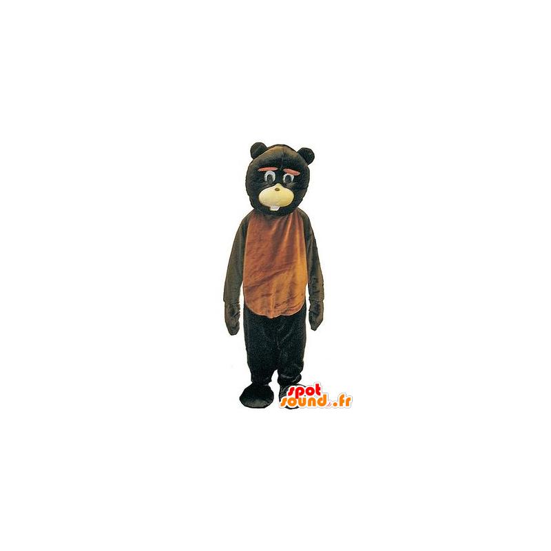 Mascot Braun und Schwarzbären, Riesen und Spaß