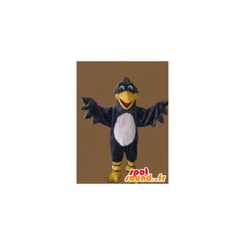 Maskotka sęp szary, żółty i biały - MASFR21800 - ptaki Mascot