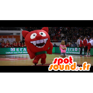 Devil Mascot, Red Imp, giant