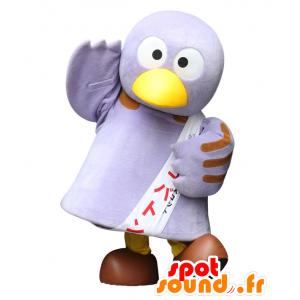 Hurtownia Mascot fioletowy ptak, bardzo śmieszne i słodkie - MASFR21954 - ptaki Mascot