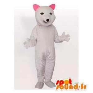 Polar bear mascot. Polar Bear Costume - MASFR006485 - Bear mascot