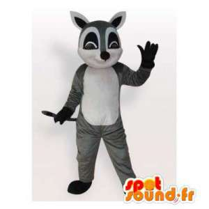 Mascot wasbeer. Raccoon Suit