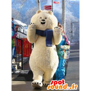 Mascot iso jääkarhu, valkoinen nalle - MASFR22045 - Bear Mascot