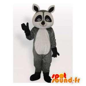 Waschbär-Maskottchen.Waschbär-Anzug - MASFR006489 - Maskottchen von pups