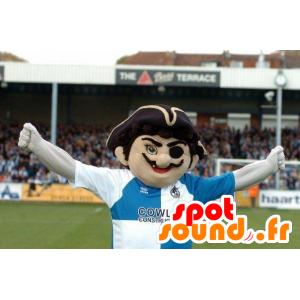 Pirate baffi mascotte in abbigliamento sportivo - MASFR22148 - Mascottes de Pirate