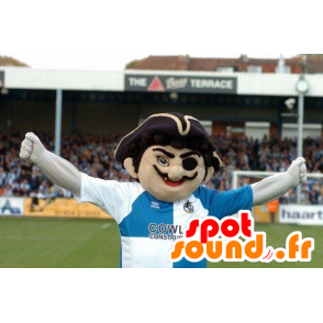 Pirate mascotte snor in sportkleding - MASFR22148 - mascottes Pirates