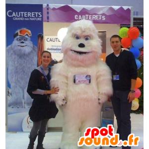 Maskottchen-Weiß Yeti, dem Yeti - MASFR22158 - Menschliche Maskottchen