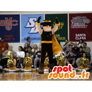 Mascot maskierte Mann, Bürgerwehren, Zorro - MASFR22233 - Menschliche Maskottchen