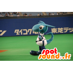 Blue Dragonin maskotti, dinosaurus, fantasia olento - MASFR22300 - Dragon Mascot