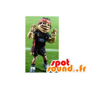 Mascot Sportler des Rugby- - MASFR22386 - Menschliche Maskottchen