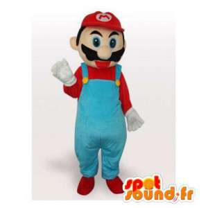 Μασκότ Mario, διάσημο βίντεο χαρακτήρα παιχνίδι - MASFR006504 - Mario Μασκότ
